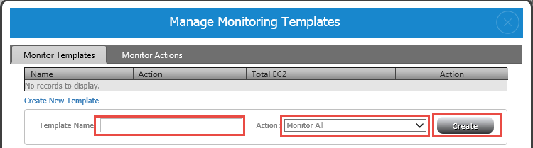 Monitoring Agent Configuration