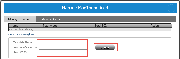 Monitoring Alerts Configuration