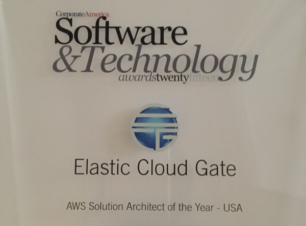 Elastic Cloud Gate Award